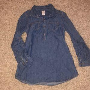 OshKosh Denim Dress size 6